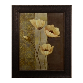 Poppy Dance I Framed Art Print