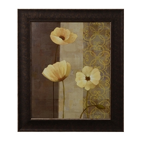 Poppy Dance II Framed Art Print