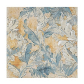 Floral Brocade Canvas Art Print