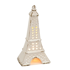 White Eiffel Tower Night Light
