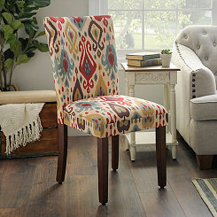 Ikat Parsons Chair