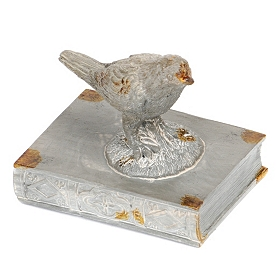 Bird and Book Statue