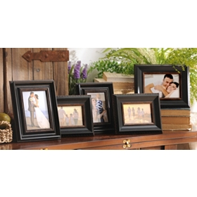 Black & Bronze Frames, Set of 5