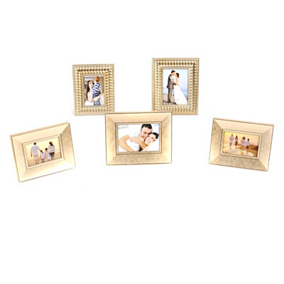 Champagne Frames, Set of 5