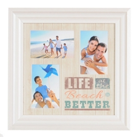 Life at the Beach Collage Frame
