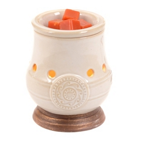 Cream Chalice Wax Warmer