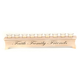 Faith, Family, Friends Tealight Candle Runner