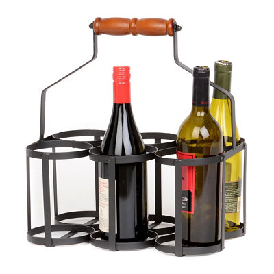 6 Bottle French Wine Carrier