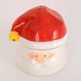 Santa Stacked Salt and Pepper Shaker, Set of 2