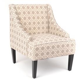Williamsburg Trellis Print Chair
