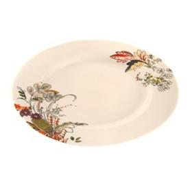 Floral Henna Dinner Plate