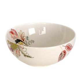 Floral Henna Serving Bowl