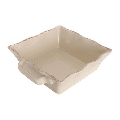 Cream Stoneware Baking Dish, 1.5 qts.