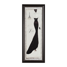 Paris Couture I Framed Art Print