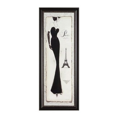 Paris Couture II Framed Art Print