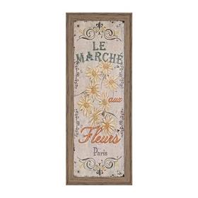 Le Marche Fleuriste I Framed Art Print