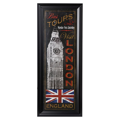 London Bus Tour Framed Art Print