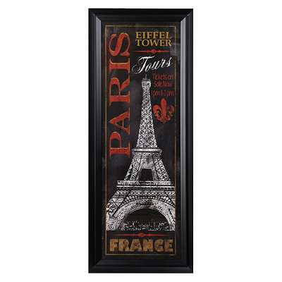 Paris City Tour Framed Art Print