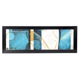Blue Beat I Framed Art Print