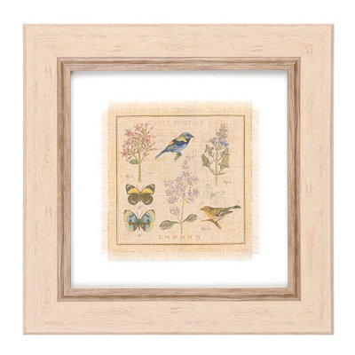 Garden Treasures I Framed Art Print