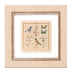 Garden Treasures II Framed Art Print