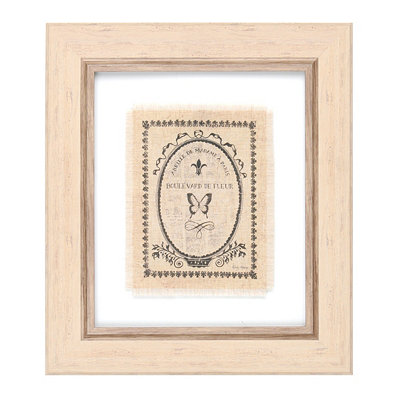 Parisian Butterfies Framed Art Print