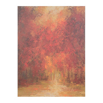 Autumn Forest Giclee Canvas Art Print