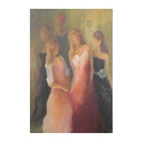 Dressing Gowns & Galas Giclee Canvas Art Print