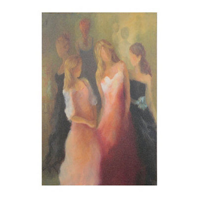 Dressing Gowns & Galas Giclee Canvas Art Print