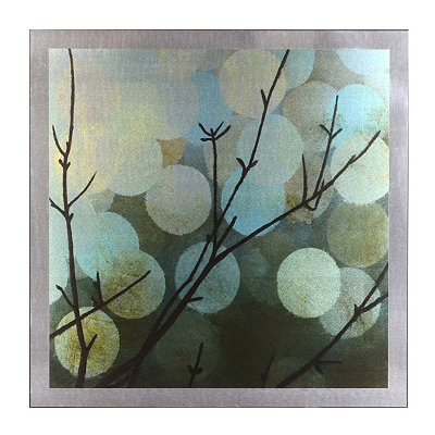 A Study in Blue & Green Mounted Aluminum Art Print