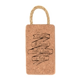 Family & Friends Cork Trivet
