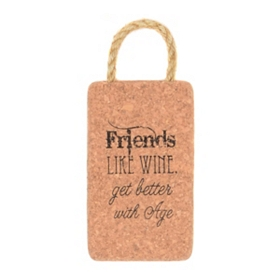 Getting Better with Age Cork Trivet