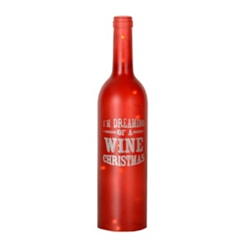 Red LED Wine Bottle