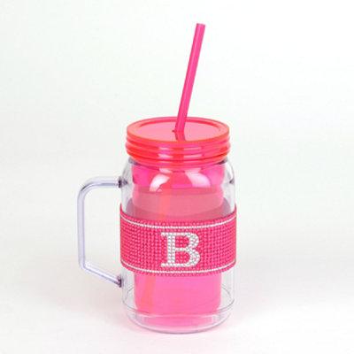Pink Monogram B Party Mug