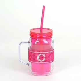 Pink Monogram C Party Mug