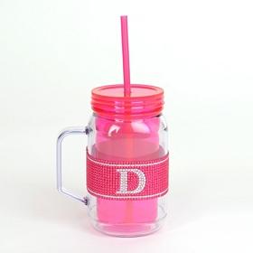 Pink Monogram D Party Mug