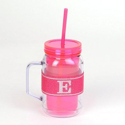 Pink Monogram E Party Mug