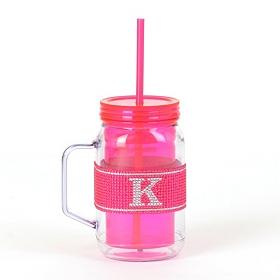 Pink Monogram K Party Mug