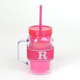 Pink Monogram R Party Mug