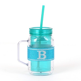 Blue Monogram B Party Mug