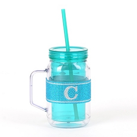 Blue Monogram C Party Mug