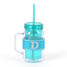 Blue Monogram D Party Mug
