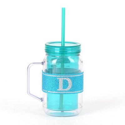 Blue Monogram D Party Mug