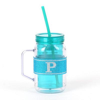 Blue Monogram P Party Mug
