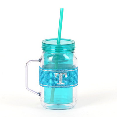 Blue Monogram T Party Mug