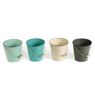 Metal Bucket, 8 in.