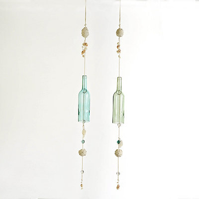 Coastal Glass Bottle Chime