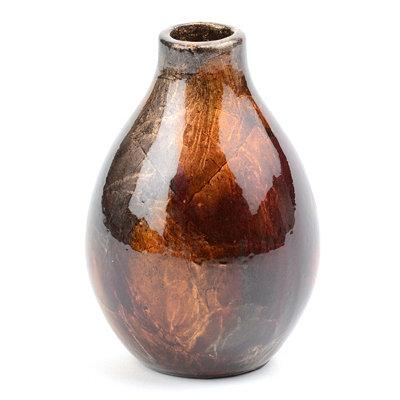 Bronze Color Infusion Mini Vase