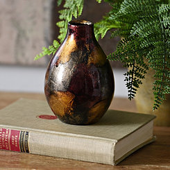 Bronze Color Infusion Mini Vase