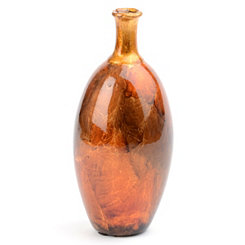 Gold Color Infusion Foil Vase